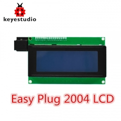 NEW!Keyestudio EASY plug I2C 2004 LCD Display Module for Arduino STEAM