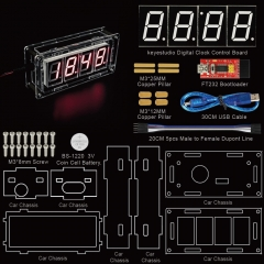 NEW! Keyestudio Smart Clock Kit  for Arduino Programming Education with FTDI +PDF