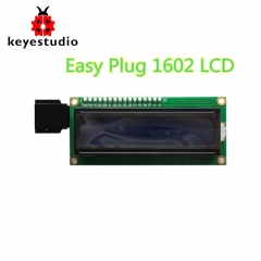New!Keyestudio  EASY plug IIC I2C 1602 LCD Display  Module for Arduino STEAM