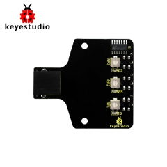 Keyestudio KEYBOT Easy Plug Programmable Robot 3-way Line Tracking Sensor For Arduino Robot