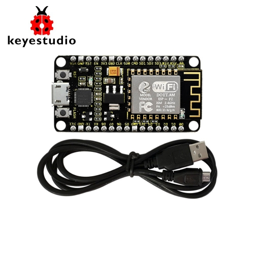 Keyestudio ESP8266 WI-FI Module Shield +1M Micro USB Cable For Arduino (Chip is CP2102-GMR)