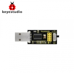 Keyestudio USB to ESP-01S Wifi Module Serial Port Shield For Arduino &Compatible with ESP8266 wifi