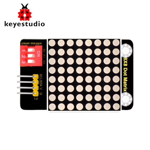 Keyestudio 8*8 LED Dot Matrix Module( Address Select) for Arduino