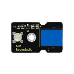 Keyestudio  RJ11 EASY plug  LED Module (White ) for Arduino  STEM