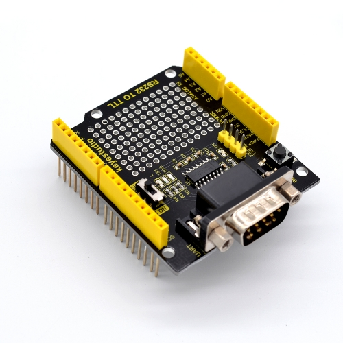 NEW! keyestudio RS232 to TTL Conversion Shield Compatible with Arduino
