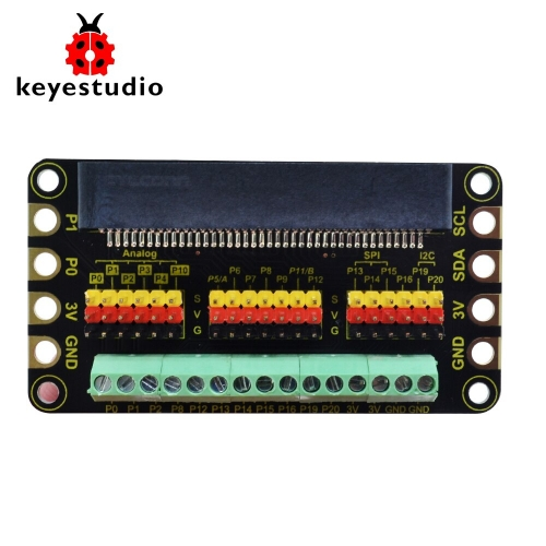 Keyestudio Terminal Blocks Shield For BBC micro:bit