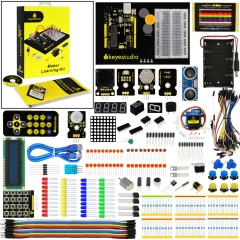 Keyestudio Maker Learning kit /Starter kit For Arduino Project W/Gift Box+User Manual +1602LCD+Chassis+PDF(online)