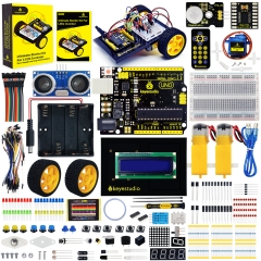 Keyestudio Ultimate Starter Kit /Robot Car Kit For Little Inventor (Zero-based Learning Arduino  Robot)