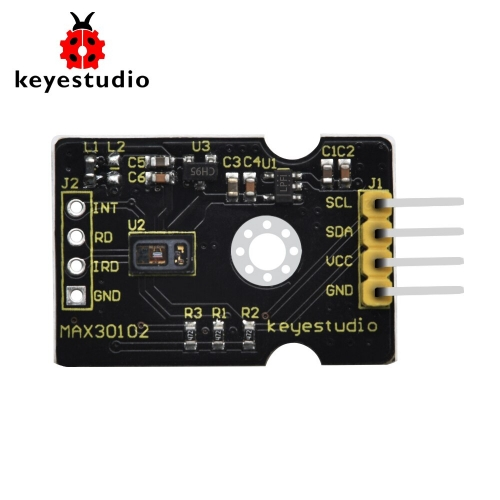 Keyestudio MAX30102 Heart Rate Sensor Oxygen Pulse Breakout for Arduino
