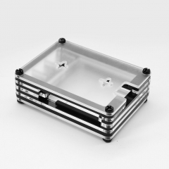 New 9 Layers Acrylic  Case Box Suitable for Raspberry Pi 4 Model B /Mountable  the Cooling Fan